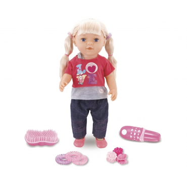 Интерактивная Кукла Baby Born ( Пупс Беби Борн ) Девочка Лили 46 см + Аксессуары