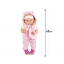 Интерактивная Кукла Baby Born ( Пупс Беби Борн ) Очаровательная Малышка 42 см + 11 Аксессуаров