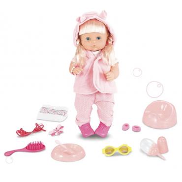 Интерактивная Кукла Baby Born ( Пупс Беби Борн ) Очаровательная Девочка 42 см + 11 Аксессуаров