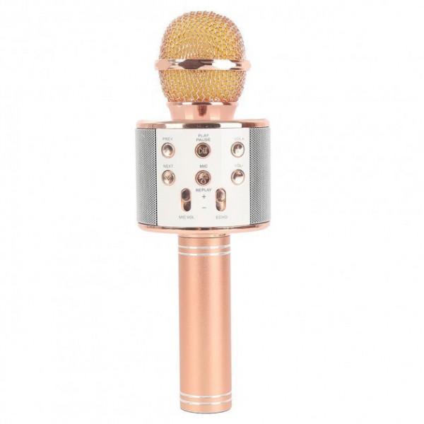 Караоке микрофон Wster WS 858 Персик