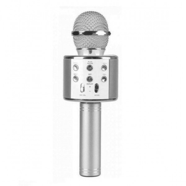 Караоке микрофон Wster WS 858 Серебро