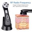 Микротоковый Массажер Для Лица с Функцией RF + EMS + Фототерапия ( LED - терапия ) с Эффектом Лифтинга и Подтяжки Кожи Черный