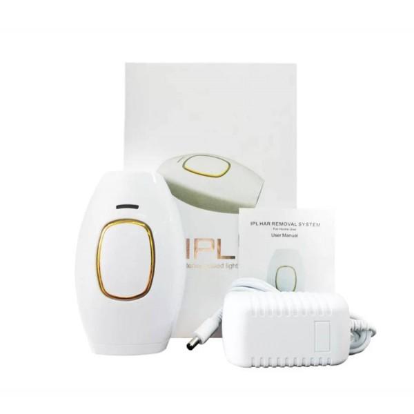 Фотоэпилятор с IPL Технологией 3in1 ( 2 Режима + 5 Уровней Интенсивности ) Белый