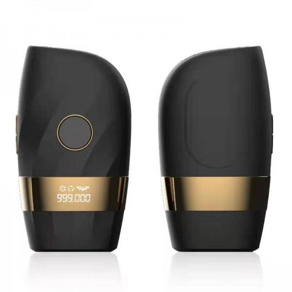 Фотоэпилятор с Технологией IPL и Функцией Охлаждения ( 2 Режима + 5 Уровней Интенсивности ) Чёрный