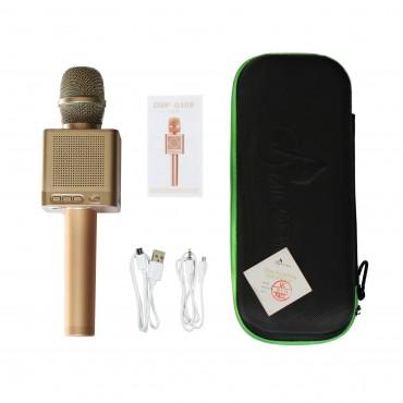 Караоке микрофон MicGeek Q10s+ Оригинал Золотой