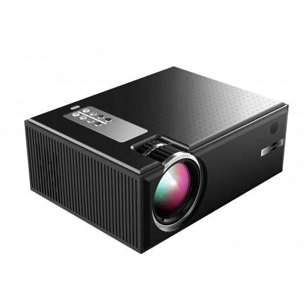 Портативный WIFI Мини LED проектор 2200 lumen с Динамиком + TV Тюнер Cheerlux C8