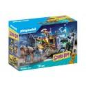 Игровой Набор Playmobil Приключения на Диком Западе Scooby-Doo Конструктор Плеймобил 70364