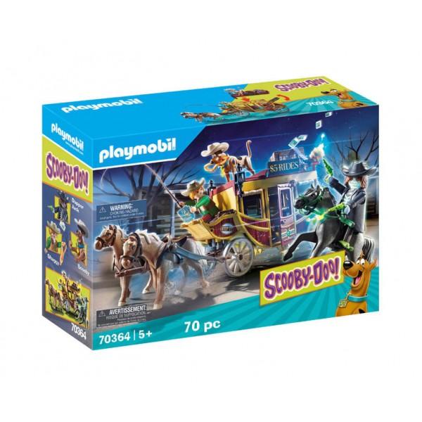 Игровой Набор Playmobil Приключения на Диком Западе Scooby-Doo Конструктор Плеймобил