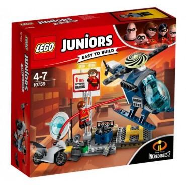 Лего Набор LEGO Juniors Эластика Погоня на Крыше 10759 Детский Конструктор LEGO
