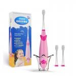Электрическая Зубная Щетка Детская Звуковая Музыкальная С LED Подсветкой Seago SG921 Sonic Розовая