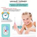 Детская Электрическая Зубная Щетка Звуковая с LED Подсветкой Seago SG977 Розовая  SG977