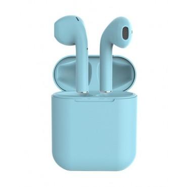 Беспроводные Bluetooth Наушники Вкладыши Со Встроенным Чипом JL D8 Inpods 12 Голубые