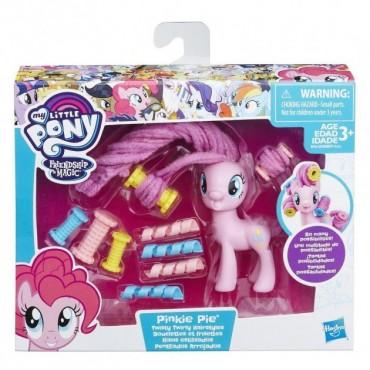 Игровой Набор My Little Pony Пинки Пай Вьющиеся Причёски Моя Маленькая Пони Pinkie Pie Hairstyles Hasbro
