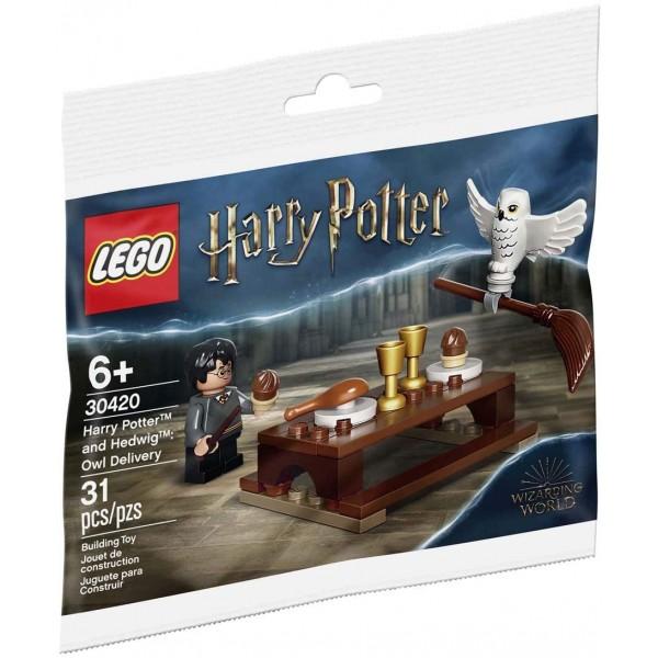 Набор Лего Гарри Поттер и Букля: Совиная Почта LEGO Harry Potter and Hedwig: Owl Delivery