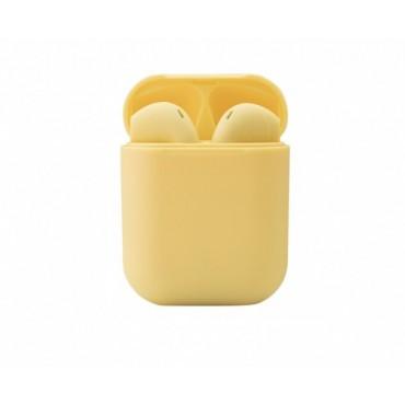 Беспроводные Наушники Bluetooth Со Встроенным Чипом JL D8 Inpods 12 Желтые
