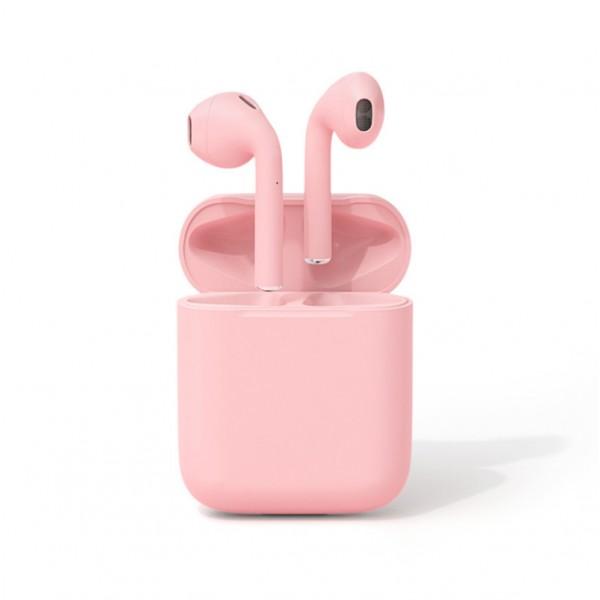Беспроводные Bluetooth Наушники Со Встроенным Чипом JL D8 Inpods 12 Розовые