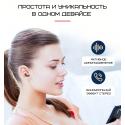 Беспроводные Bluetooth Наушники Вкладыши Со Встроенным Чипом Langxun Розовое Золото S6