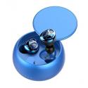 Беспроводные Наушники Вкладыши Со Встроенным Чипом Airoha D09 TWS Синие D09