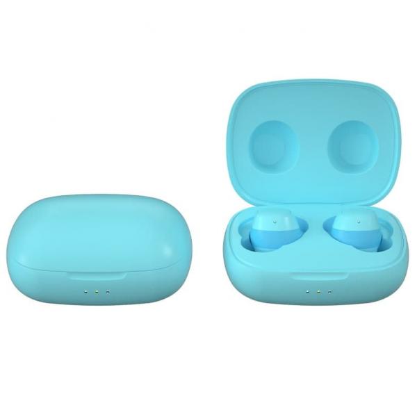 Беспроводные Стерео Наушники Sainyer T20 TWS со Встроенным Чипом Pixart Голубые