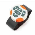 Робот Игрушка Интерактивный Робот На Радиоуправлении Программируемый Со Светом и Звуком Белый