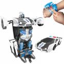 Игрушка Трансформер Робот Оптимус Прайм Полицейская Машинка На Радиоуправлении Со Световым Эффектом Инфракрасное Индуцированное Управление