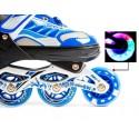 Роликовые коньки Happy 2 с Подсветкой 38-42 Blue