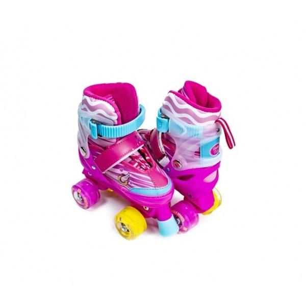 Комплект ролики-квады Disney Little Pony 29-33 Розовый