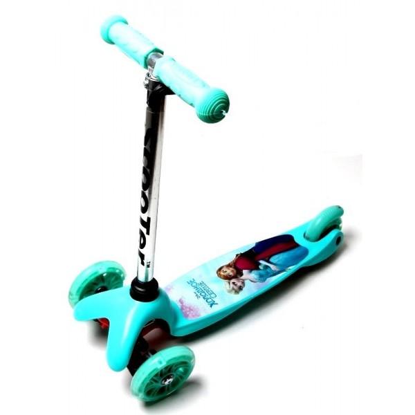 Самокат Детский  Scooter Micro Mini Frozen Бирюзовый