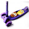 Самокат Scooter Maxi Disney Beauty and Beast Фиолетовый