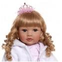 Силиконовая Коллекционная Кукла Реборн Reborn Девочка Мария ( Виниловая Кукла ) Высота 60 см
