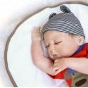 Силиконовая Коллекционная Кукла Реборн Reborn Мальчик Кирюша ( Виниловая Кукла ) Высота 57 см