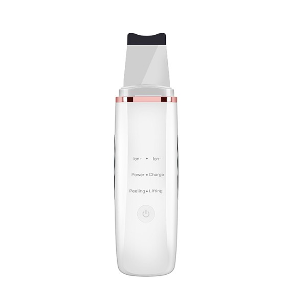 Ультразвуковой Скрабер Для Чистки Лица, Лифтинга и Фонофореза с Функцией EMS и Фототерапией 4in1 Белый