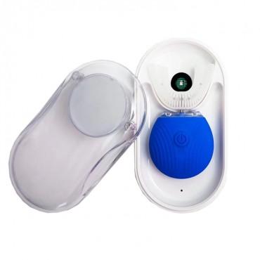 Ультразвуковая Электрическая Зубная Щетка с Автоматической Стерилизацией BeWhite Синяя