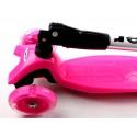 Детский Самокат со Светящимися Колёсами Scale Sports MAXI Pink (992675659)