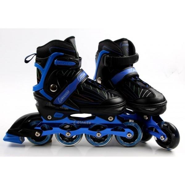 Роликовые коньки Caroman Sport 34-37 Blue (503752028-M)