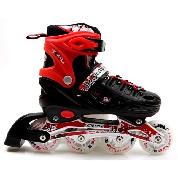 Роликовые коньки Scale Sports 38-42 Red (1352221228-L)
