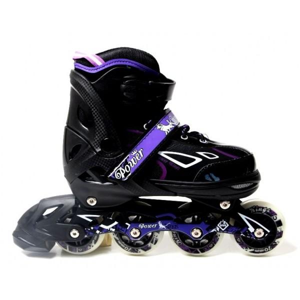 Роликовые коньки King Power 34-37 Violet (1664042474-M)