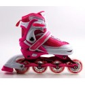 Роликовые коньки Caroman Sport 27-31 Pink (348816597)