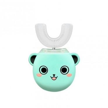 Умная Ультразвуковая Электрическая Зубная Щетка Капа с Автоматической Стерилизацией BeWhite Детская Мятная