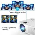 Портативный Мини LED проектор 2800 Lumen с Динамиком + TV тюнер Cheerlux C9