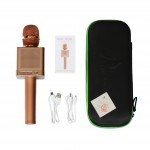 Караоке микрофон MicGeek Q10s+ Оригинал Розовое золото