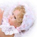 Силиконовая Коллекционная Кукла Реборн Reborn Девочка Бэлла ( Виниловая Кукла ) Высота 47 см